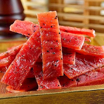 南門市場快車肉乾-蜜汁黑胡椒豬肉乾-115g