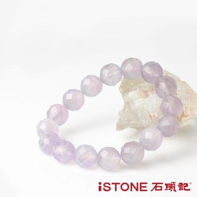 石頭記 美好時代紫玉髓切刻手鍊