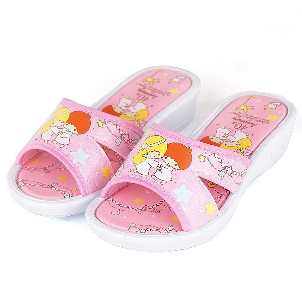 LittleTwinStar雙星仙子40週年限定款拖鞋童鞋-粉