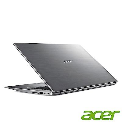 acer SF314-52-57QR 14吋筆電(i5-7200U/4G/128G/銀/福
