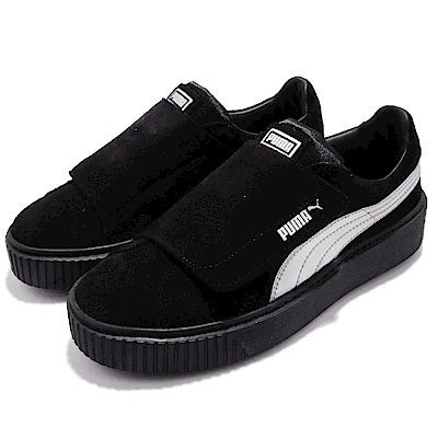 Puma Platform Strap Satin 女鞋