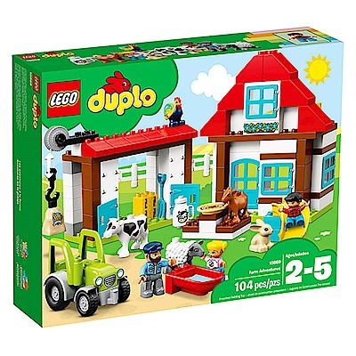 LEGO樂高 得寶系列 10869 農場探險