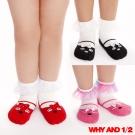 WHY AND 1/2 mini 普普熊娃娃鞋款短襪 防滑襪 多色可選