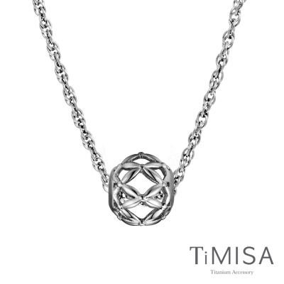 TiMISA 編織夢想 純鈦串飾項鍊(SB)
