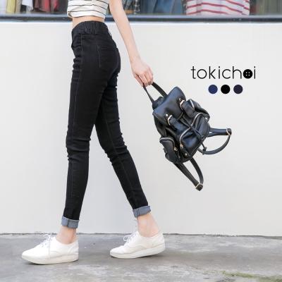 東京著衣 多色俐落感窄管牛仔褲-S.M.L(共三色)