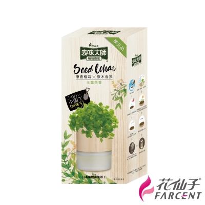 去味大師-植栽香氛補充瓶-玉露茶香90ml