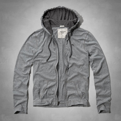 AF a&f Abercrombie & Fitch 外套 灰色 0223
