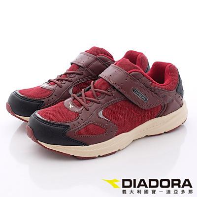 DIADORA-乳膠動能健走鞋-TH752紅(女段)