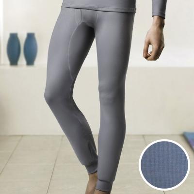 DADADO EKS保濕 SUPLY素面M-LL 保暖褲(灰藍)