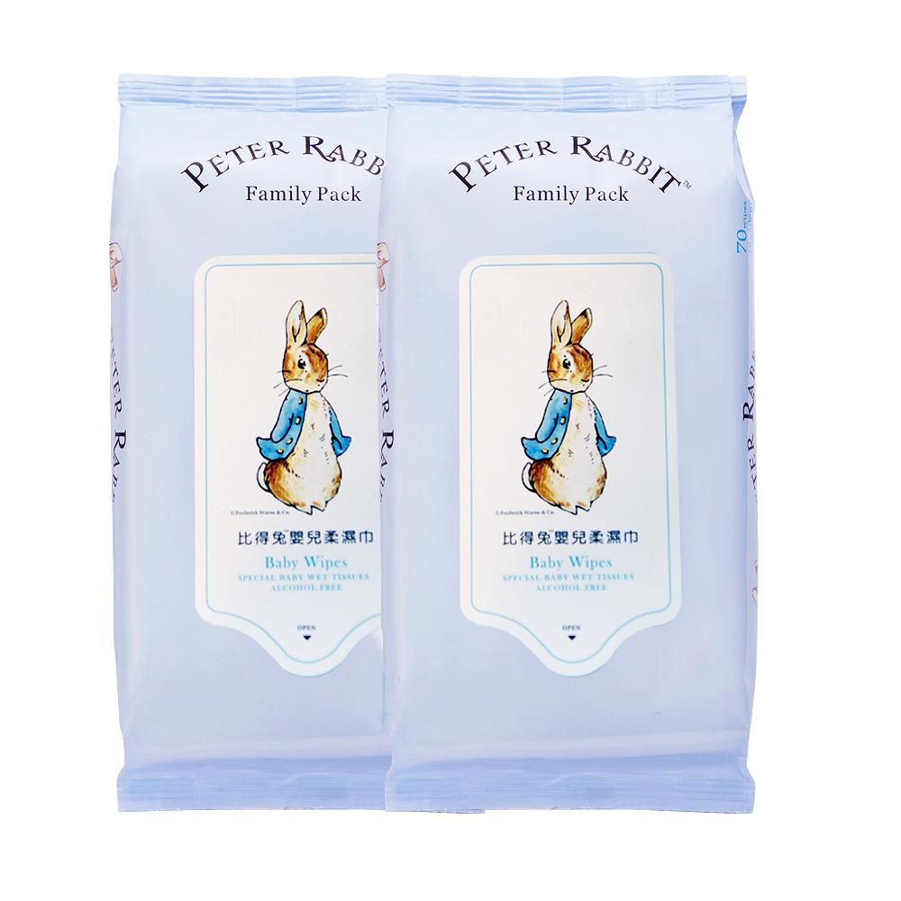 【奇哥】比得兔柔濕巾20抽1箱(72包)