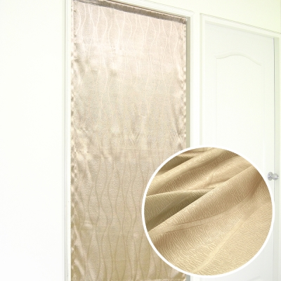 布安於室-東曲壓紋3明治遮光布風水簾-7色款