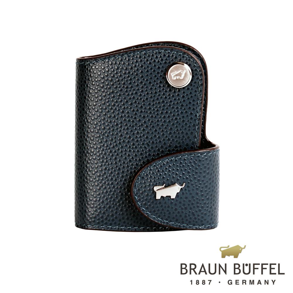 BRAUN BUFFEL - HOMME-B紳士系列感應器鑰匙包 - 藍色