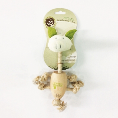 Natural Crunch《會呼吸的玩具系列-小豬》