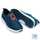 TOMS 特色織紋休閒鞋-男款(藍)