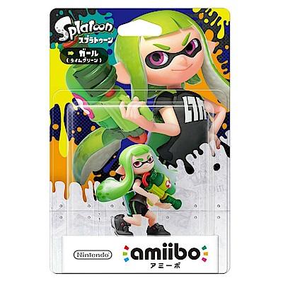 (預購) Amiibo 綠色女孩公仔(漆彈大作戰系列)