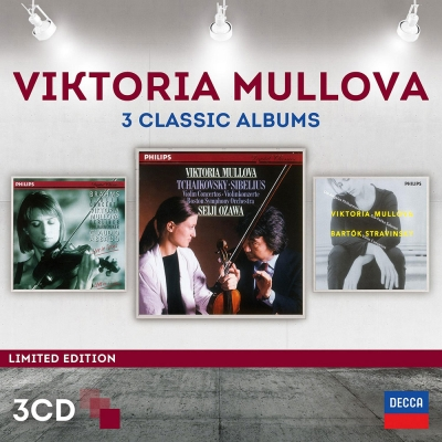 慕洛娃/三大經典錄音(3CD)