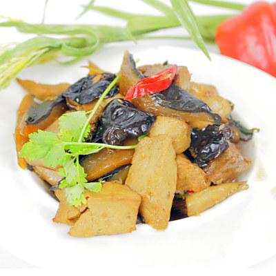 高興宴 素人上菜-三杯素海參猴頭菇500g(蛋奶素)(適合5-7人份)