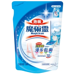 魔術靈 地板清潔劑補充包(清新海洋) 1800ml