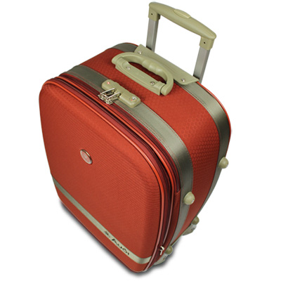 【Audi 奧迪】29吋新蜂巢格8輪360度~Audi行李箱旅行箱LT-71529-橘