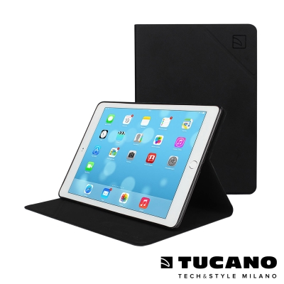 TUCANO iPad Air2 Angolo 時尚可站立式皮革紋保護套