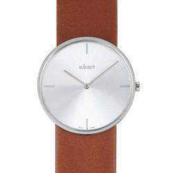 a.b.art D系列 摩登極簡都會時尚腕錶-銀/34mm