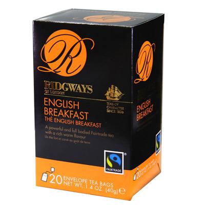 Ridgways里奇威茶 英式早餐茶(2gx20入)