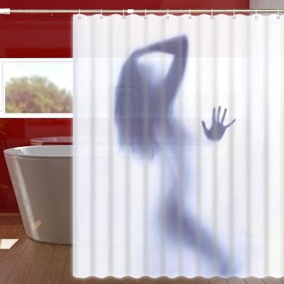 180x150cm 性感女郎防潑水浴簾(一個)