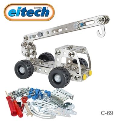 德國eitech益智鋼鐵玩具-迷你起重機 C69