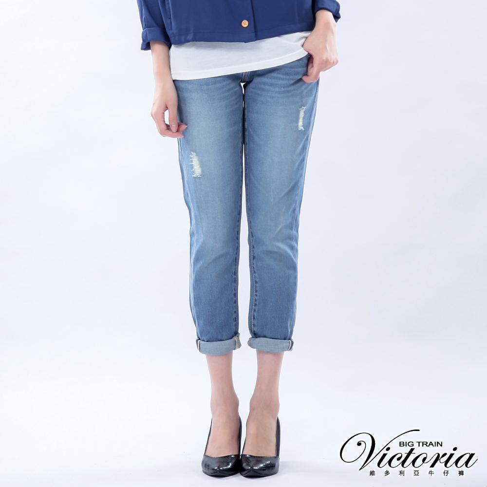 Victoria TENCEL 男友褲-女-淺藍