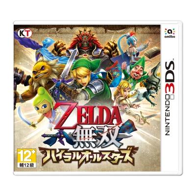 薩爾達無雙海拉魯 - 3DS 日版 日文版