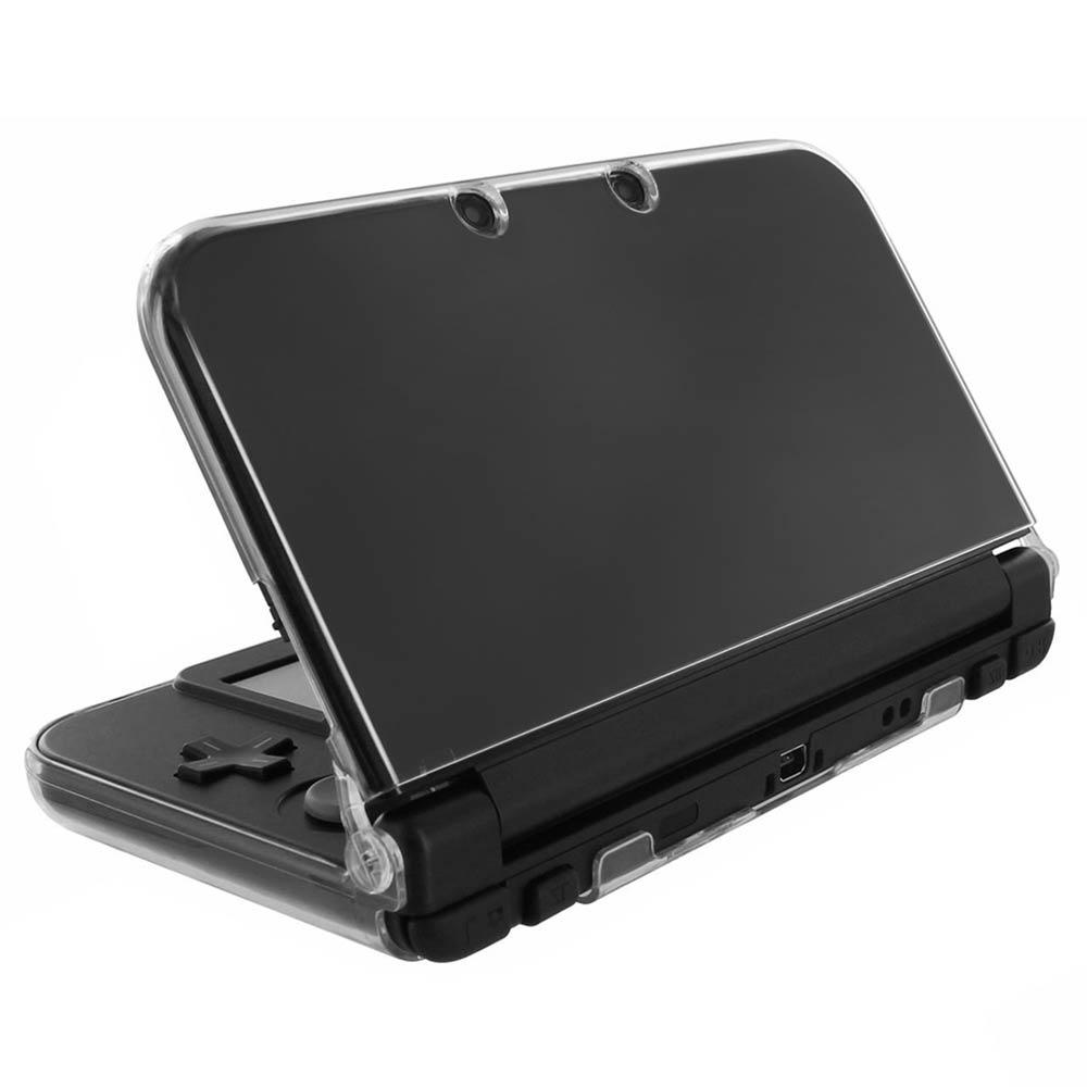 New 3DS LL XL專用水漾晶透保護硬殼透明殼