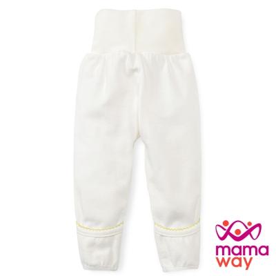 Mamaway 新生兒護肚長褲(黃色)