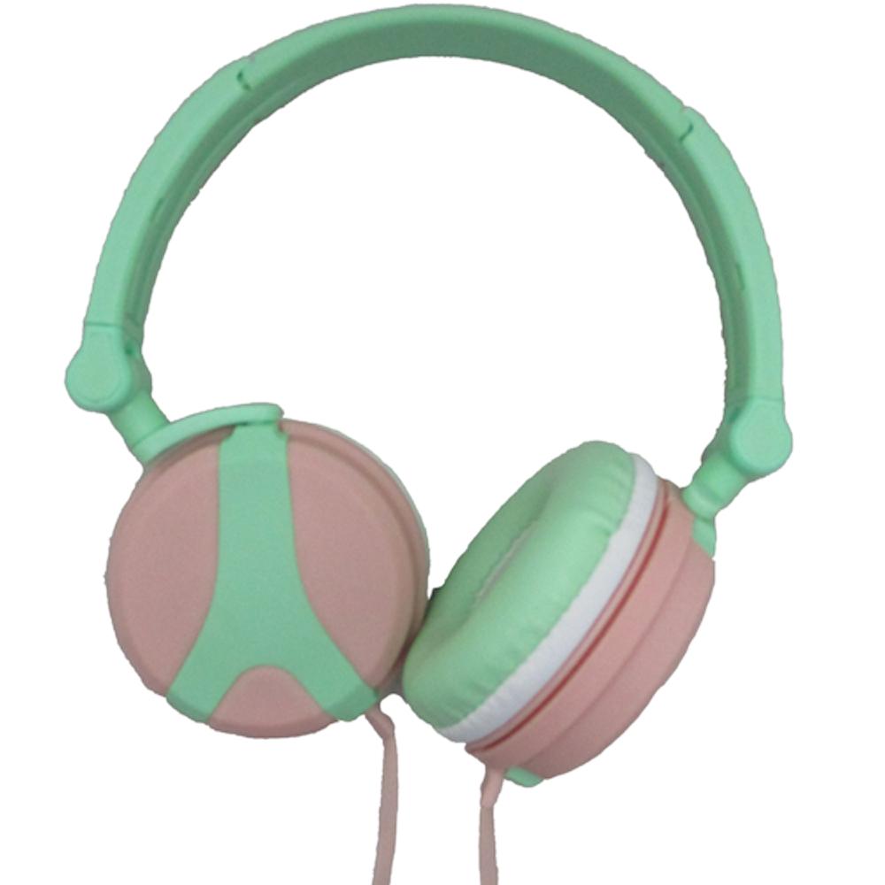 X-31馬卡龍系列 舒適時尚耳罩型耳機