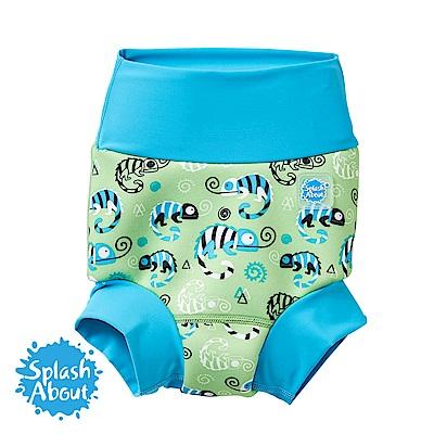 Splash About 潑寶 3D加強版 游泳尿布褲 - 國王變色龍