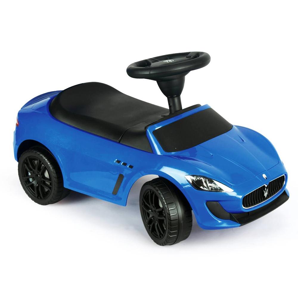 寶貝樂精選 瑪沙拉蒂學步車遊戲車-藍色
