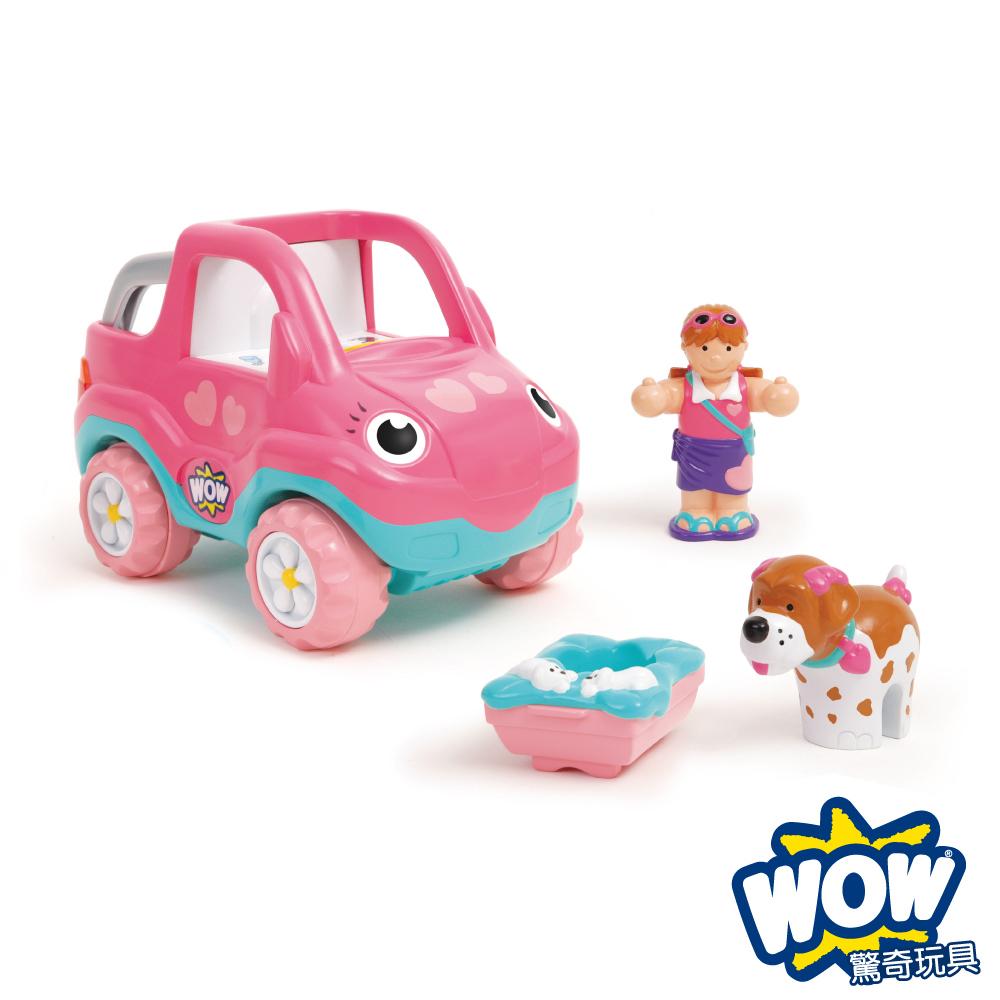 【WOW Toys 驚奇玩具】假期吉普車-佩妮