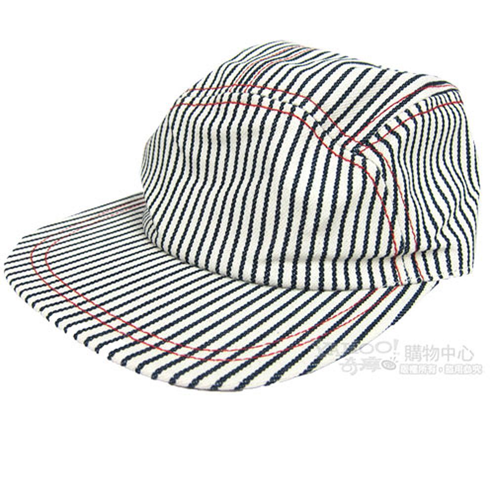 agnes b 條紋棒球帽