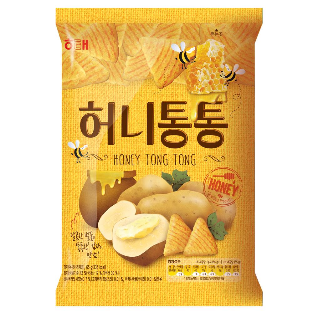 海太 蜂蜜奶油洋芋咚咚餅(65g)