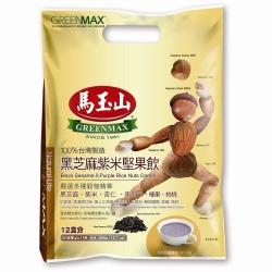 馬玉山 黑芝麻紫米堅果飲(30gx12入)