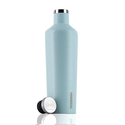 CORKCICLE 酷仕客Waterman戶外系列易口瓶-740ml (冰河藍)