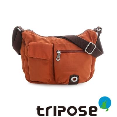 tripose-MOVE系列多口袋斜背包-橘