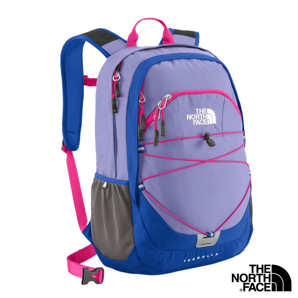 The North Face ISABELLA 女 風格雙肩背包 薰衣草紫/杜鵑桃