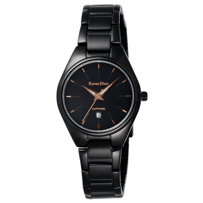 Roven Dino羅梵迪諾 輕鬆伴點日期腕錶-RD720B-358BG/30mm