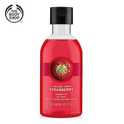 The Body Shop 草莓嫩白沐浴膠-250ML