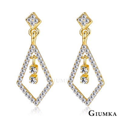 GIUMKA 華麗歐風 耳環-金色