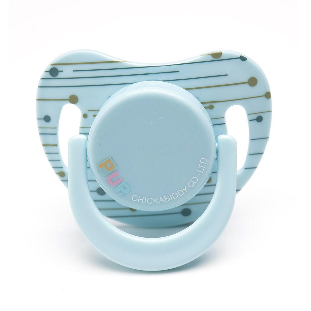 PUP 安撫奶嘴 - 條紋藍綠