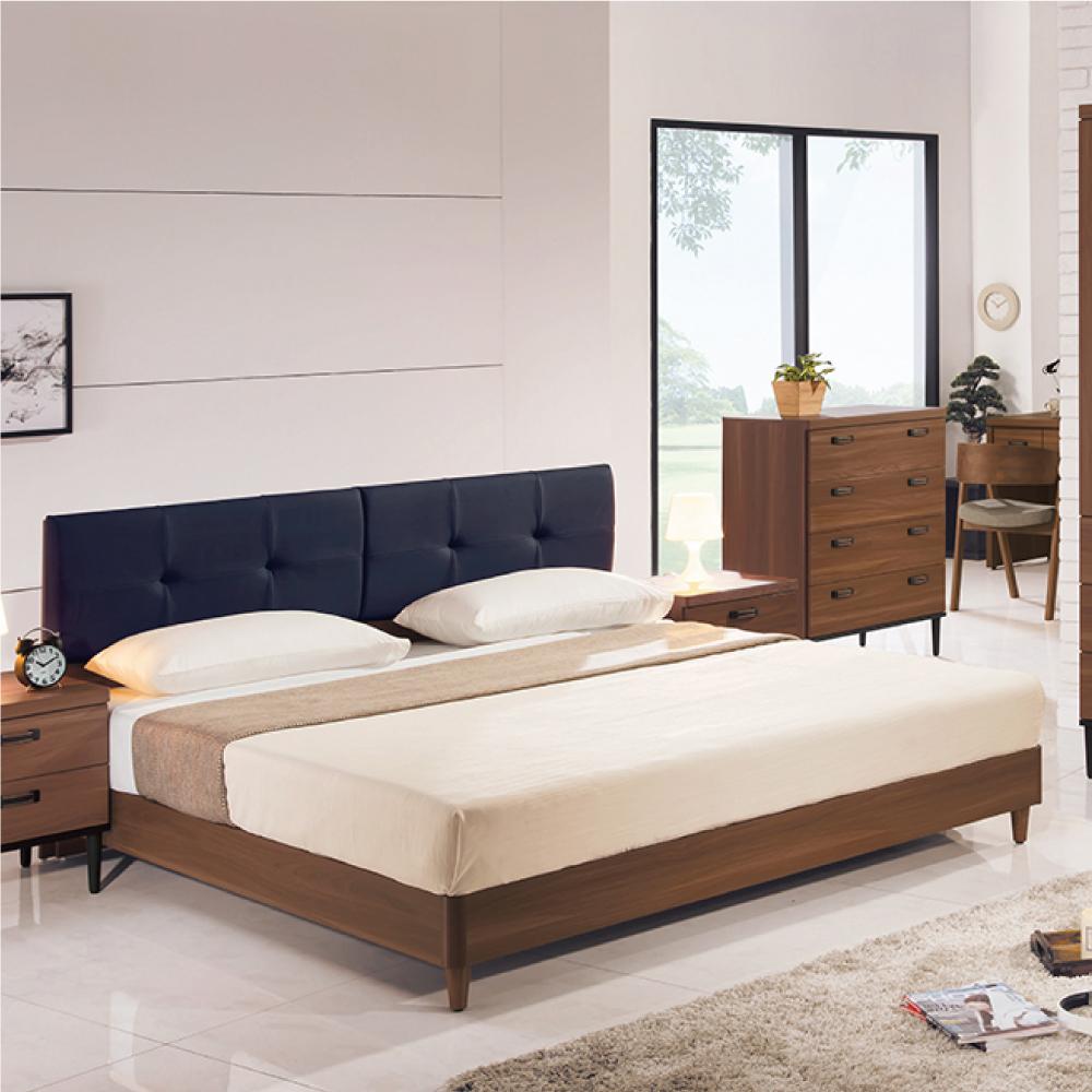 床架 雙人5尺 狄亞納斯 床頭片+床底組 AS