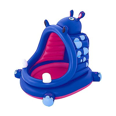 HIPPO 河馬造型遮陽遊戲水池