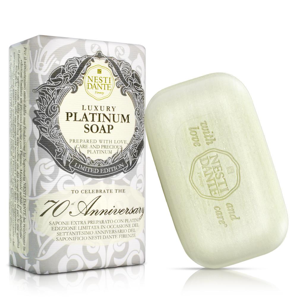 Nesti Dante 義大利手工皂-70週年典藏紀念版-鉑金菁萃皂(250g) * 2入