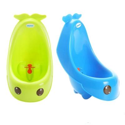 babyhood 藍鯨艾達便斗 藍色 專為男童設計的小便斗